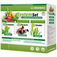 Tetra dennerle perfect plant system set 800 liter 10 stueck