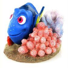 aquarium deko dory mini 4 5x3 8x4 5cm