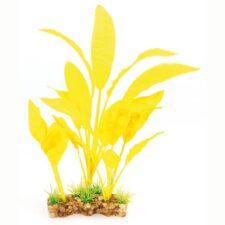 aquarium deko fantasy plant vsb gelb