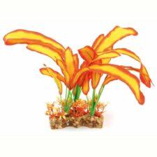 aquarium deko fantasy plant vsb orange