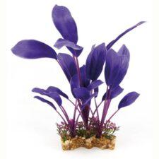 aquarium deko fantasy plant vsb violett