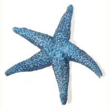 aquarium deko seestern blau