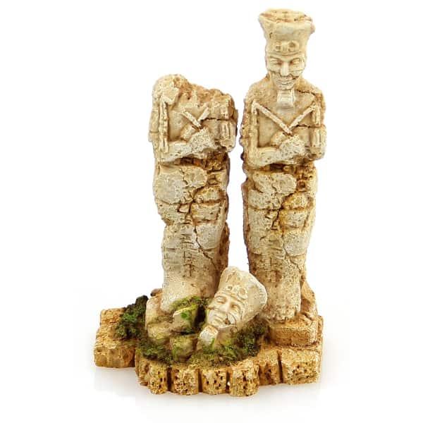 aquarium dekoration aegyptische statue