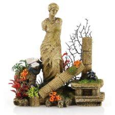 aquariumfigur venus statue