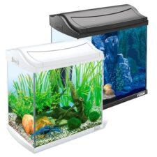 aquariumset tetra aquaart 30l schwarz weiss 1