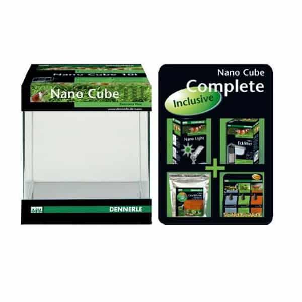dennerle nano cube aquarium set 19a021
