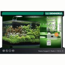 dennerle scapers tank basic led power 35l aquarium