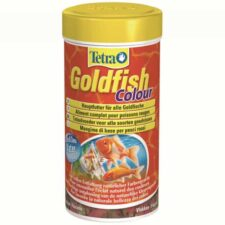 fischfutter tetra goldfish colour flocken