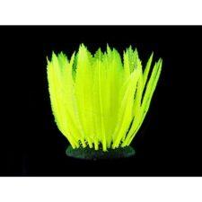 kunststoff pflanzen aquarium fluo farn gelb