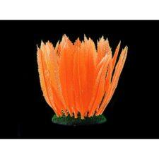 kunststoff pflanzen aquarium fluo farn orange