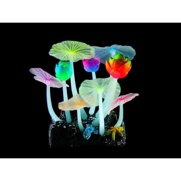 kunststoff pflanzen aquarium fluo lotus r6