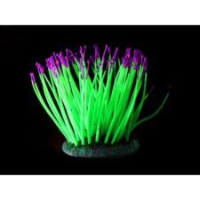 kunststoff pflanzen aquarium fluo sea anemone gruen