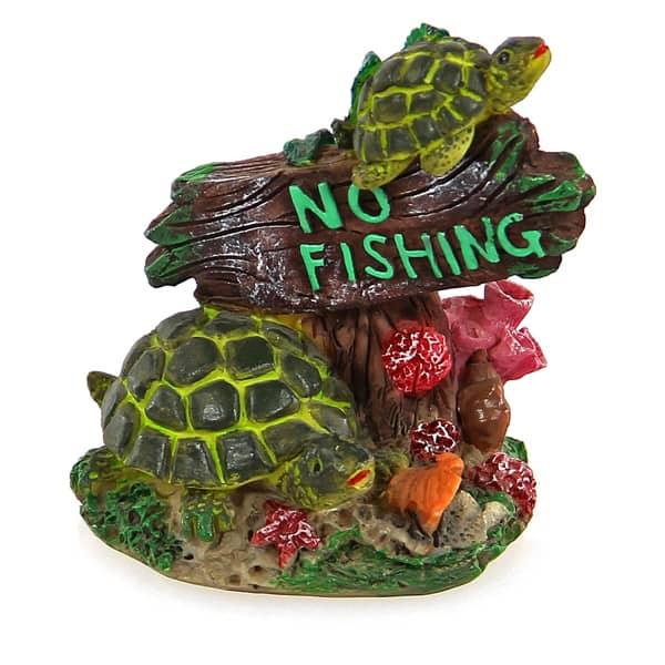 mini dekor schildkroete no fishing