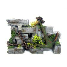 schiffs anker holz amazonas dekor wood